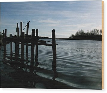 Wood Print featuring the photograph Serenity by Paul Foutz