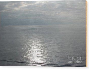Serenity Sea Wood Print by Linda Prewer
