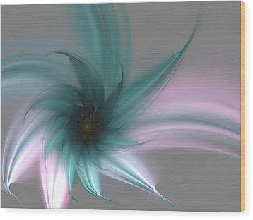 Wood Print featuring the digital art Serenity by Svetlana Nikolova