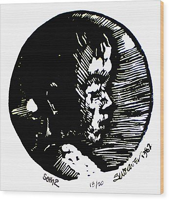 Seth 2 Wood Print by Seth Weaver