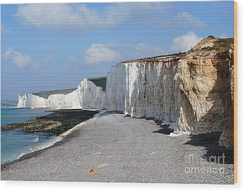 Seven Sisters Wood Print by Scott D Welch
