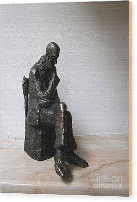 Severe Problem Wood Print by Nikola Litchkov