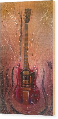 SG Wood Print by Andrew King