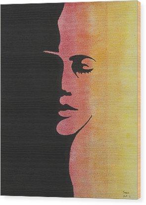 Shade Wood Print by Sean Mitchell