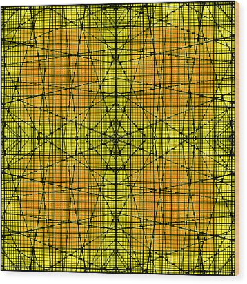 Shades 17 Wood Print by Mike McGlothlen