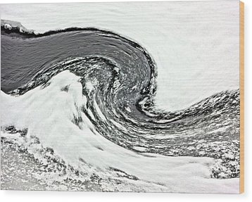 Wood Print featuring the photograph Shades Of Cold by Debi Dmytryshyn