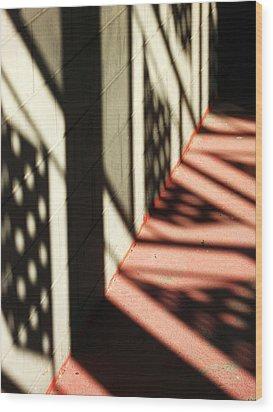 Shadows Of Love Wood Print