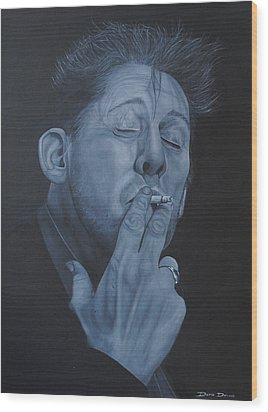 Shane Macgowan Wood Print