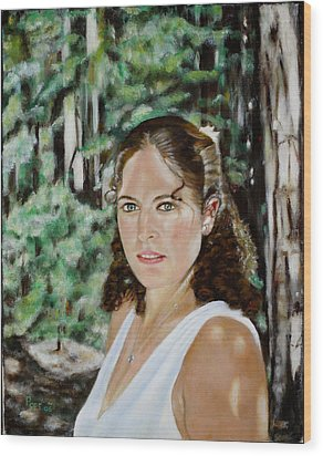 Sharon Valterria Wood Print