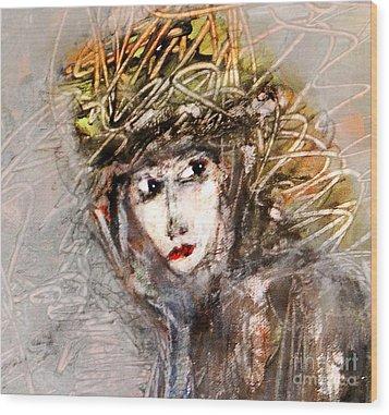 SHE Wood Print