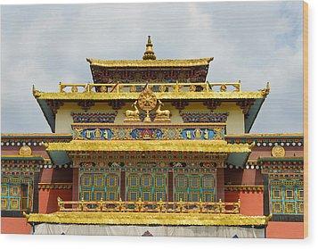 Shechen Monastery In Kathmandu Wood Print