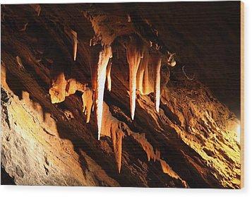 Shenandoah Caverns - 121212 Wood Print by DC Photographer