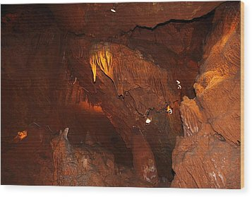 Shenandoah Caverns - 121249 Wood Print by DC Photographer