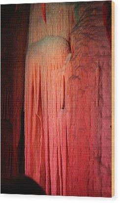 Shenandoah Caverns - 121251 Wood Print by DC Photographer
