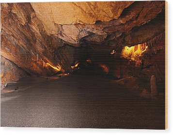 Shenandoah Caverns - 12128 Wood Print by DC Photographer
