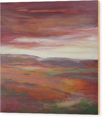 Shepherds Delight Ll Wood Print