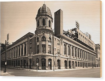 Shibe Park  Wood Print by Bill Cannon