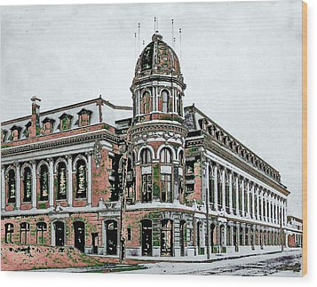 Shibe Park Wood Print by John Madison