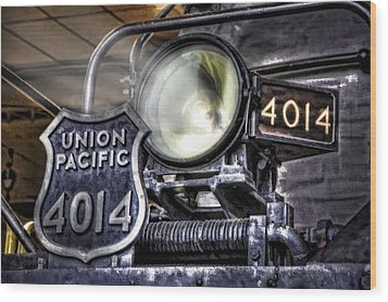 Wood Print featuring the photograph Shine Bright by Ken Smith