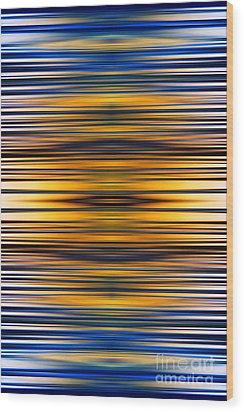 Shine Wood Print by Tim Gainey