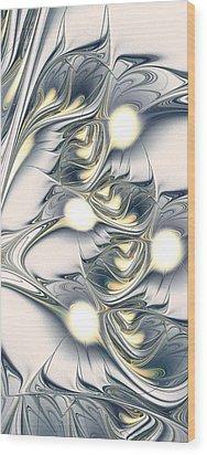 Shining Wood Print by Anastasiya Malakhova
