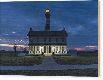 Shining Bright Wood Print by Gregg Southard