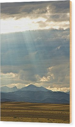 Shining Down Wood Print by James BO  Insogna
