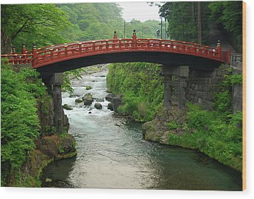 Shinkyo In Nikko Wood Print