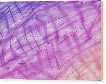 Shiny Background Wood Print by Krasimira Nevenova