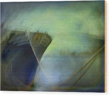 Wood Print featuring the photograph Ship #3 by Alfredo Gonzalez