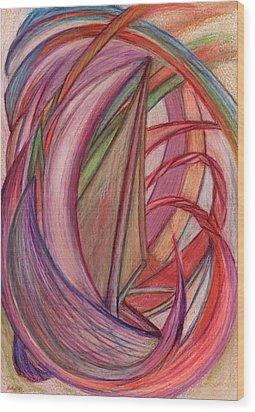Ships Wood Print by Kelly K H B