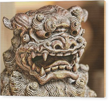 Shisha Wood Print by Karen Walzer