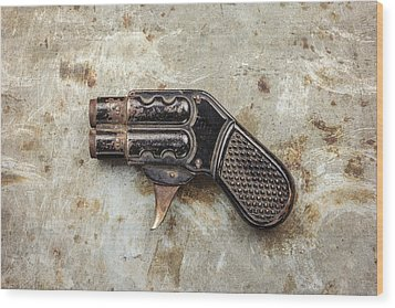 Shoot Wood Print by Martin Bergsma