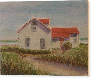 Shore Retreat Wood Print