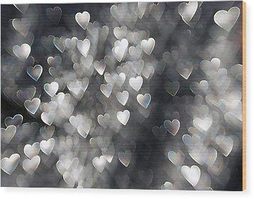 Showered In Love Wood Print