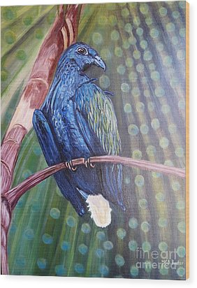 Showered With The Light Of His Creation Wood Print by Kimberlee Baxter