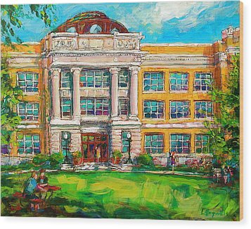 Shs Pride Wood Print by Les Leffingwell