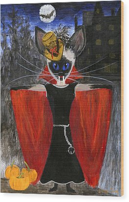 Siamese Queen Of Transylvania Wood Print by Jamie Frier
