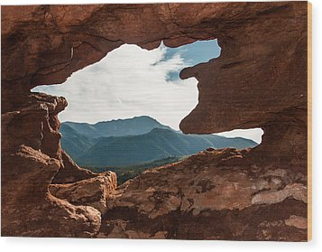 Wood Print featuring the photograph Siamese Twins by Jay Stockhaus