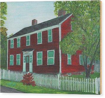 Sibson House Wood Print