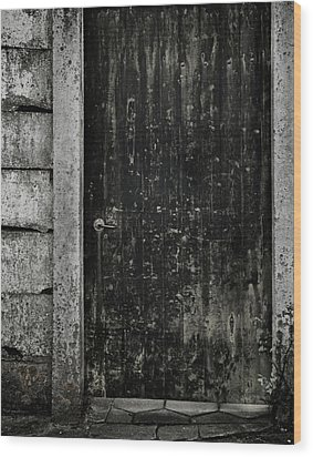 Side Street Wood Print by Odd Jeppesen