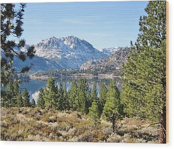 Wood Print featuring the photograph Sierra Perfect by Marilyn Diaz