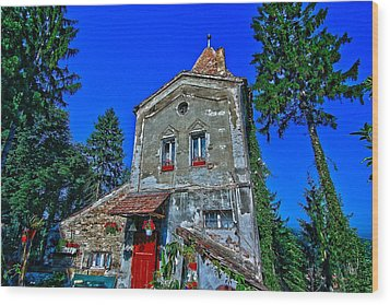 Sighisoara - Citadel Tower Wood Print