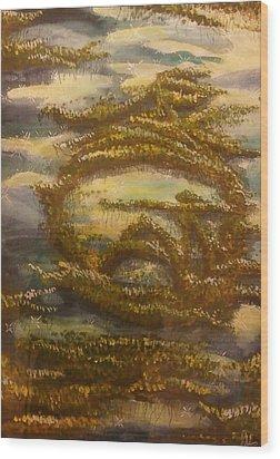 Sigil For Serenity Wood Print