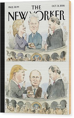 Significant Others Wood Print by Barry Blitt