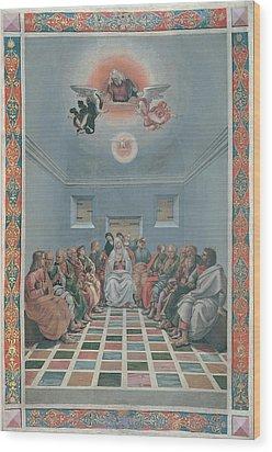 Signorelli Luca, Standard Crucifixion Wood Print by Everett