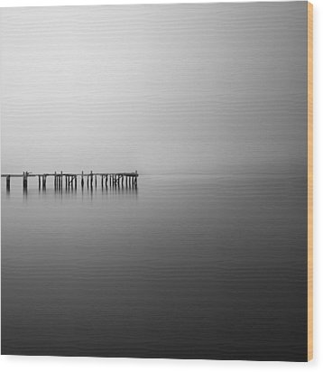 Wood Print featuring the photograph Silence by Frodi Brinks