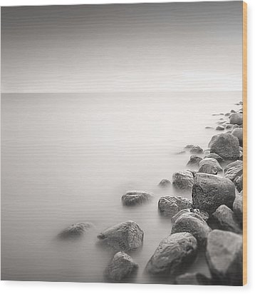 Wood Print featuring the photograph Silence II by Frodi Brinks