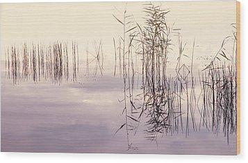 Silent Rhapsody. Sacred Music Wood Print by Jenny Rainbow