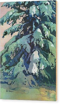 Silent Season Wood Print by Kris Parins